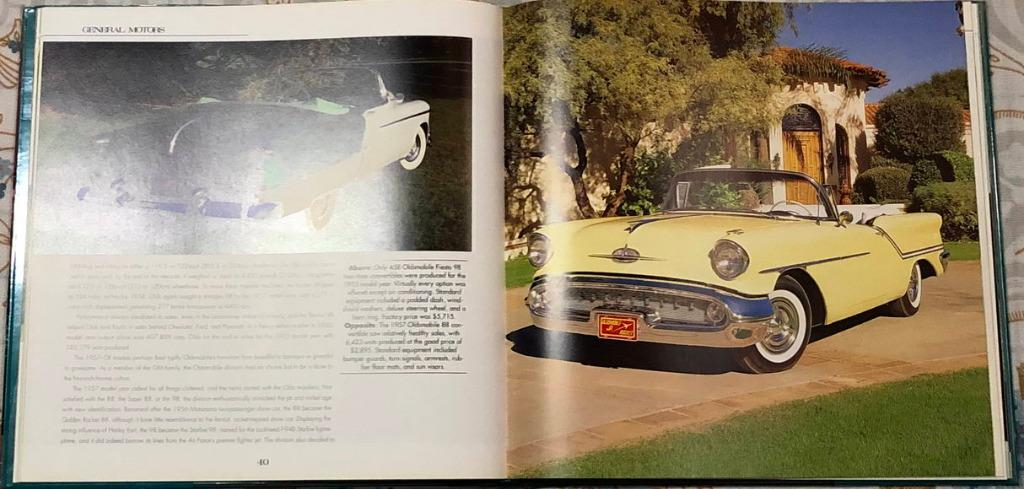 Fabulous Fins of the Fifties coffee table book cadillac chevrolet ford chrysler