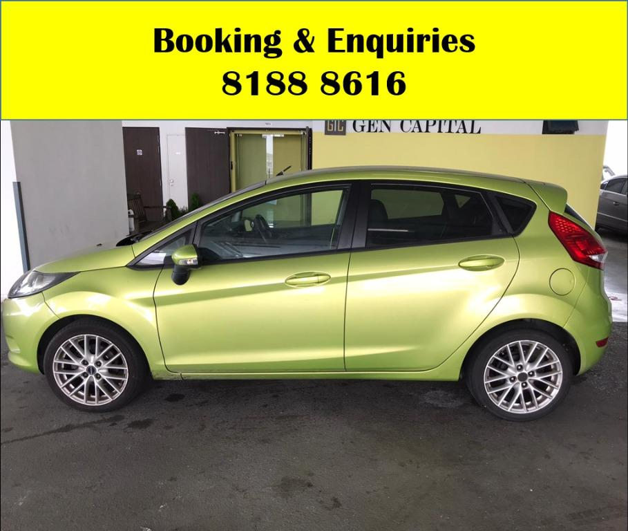 Ford Fiesta SOCIAL DISTANCING?? Rent a car now to travel with a peace of mind! Cheapest Car rental in town with just $500 Deposit driveoff immediately. Fuel efficeint, spacious & well maintained! Whatsapp 8188 8616 now to enjoy special rates!!