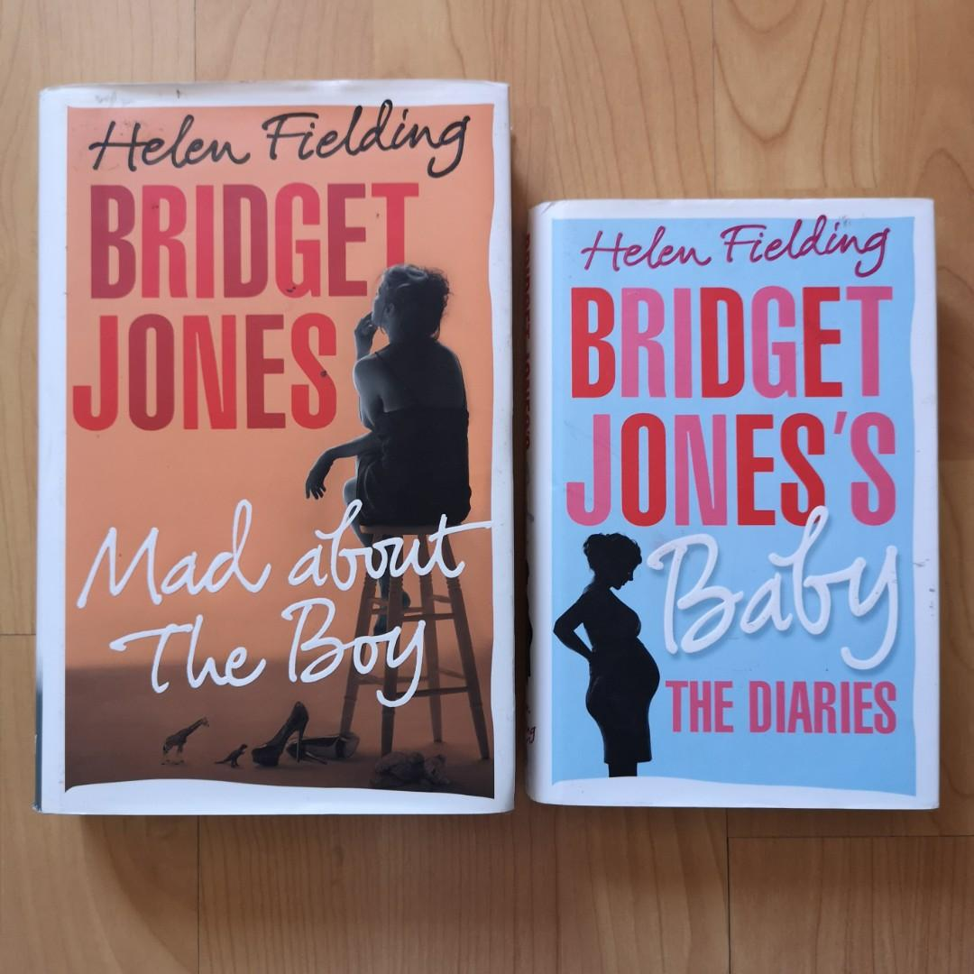 Helen Fielding 's Bridget Jones: Mad About the Boy and Baby the Diaries