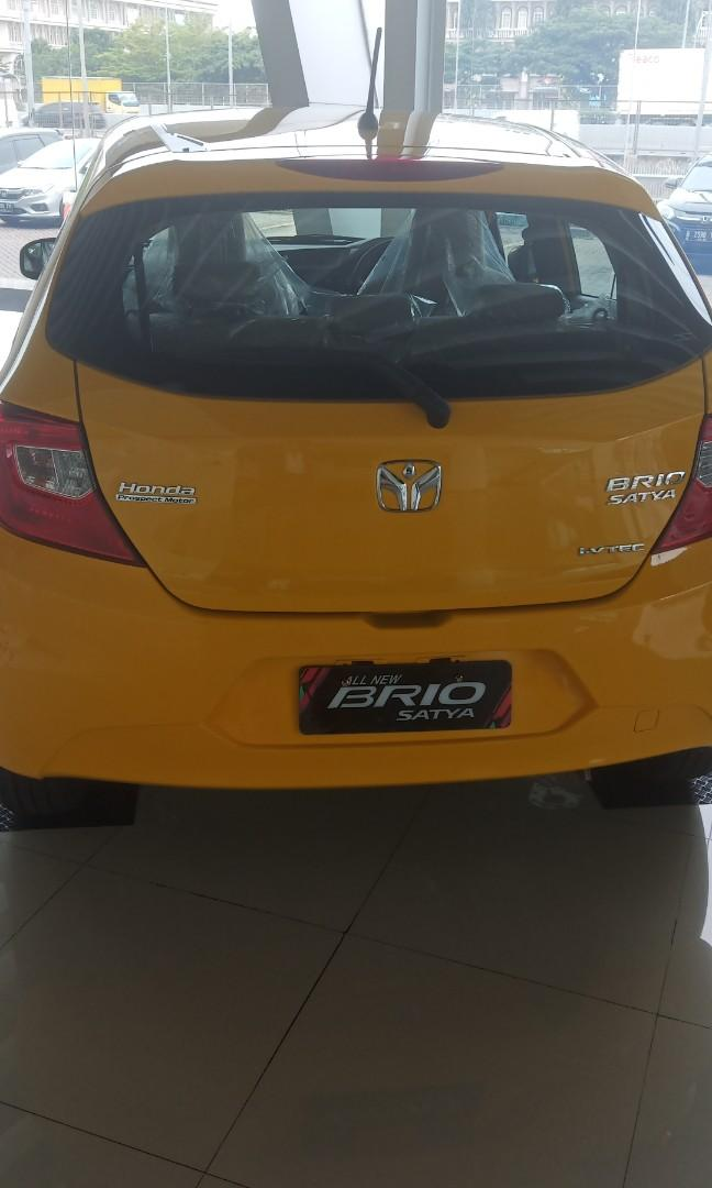 Honda Brio E Cvt, Special Promo khusus bulan Maret. Free Etoll dan Accecoris