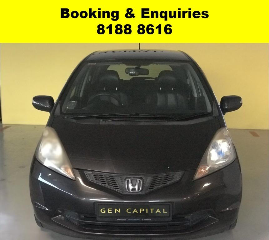 Honda Jazz SOCIAL DISTANCING?? JUST IN Superb condition, Fuel efficeint & Spacious!  Rent a car now to travel with a peace of mind! Cheapest Car rental in town with just $500 Deposit driveoff immediately.  Whatsapp 8188 8616 now to enjoy special rates!!