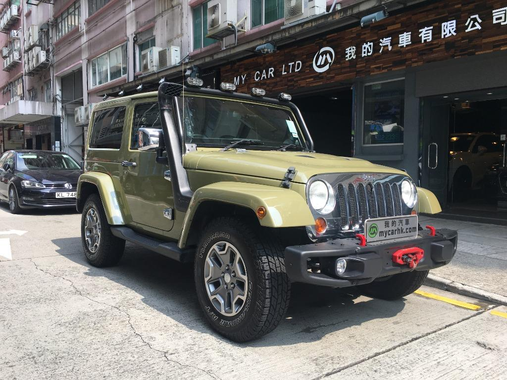 Jeep Wrangler Sahara 2-Dr (A)