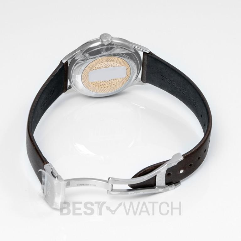 [NEW] Oris Artelier Art Blakey Limited Edition Automatic Silver Dial Men's Watch 01 733 7762 4081-Set