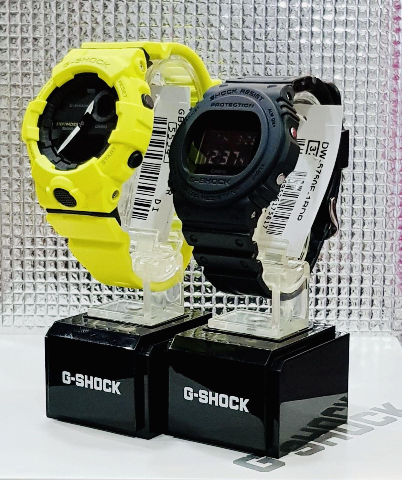 NEW🌟COUPLE💝SET : BABYG + GSHOCK DIVER UNISEX SPORTS WATCH  : 100% ORIGINAL AUTHENTIC CASIO BABY-G-SHOCK : DW-5750E-1 + GBA-800-9A