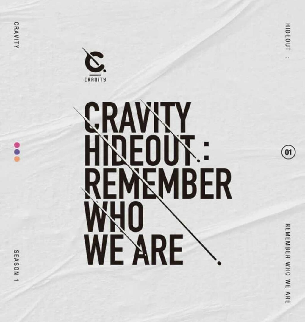 [Preorder]CRAVITY - SEASON1. HIDEOUT: REMEMBER WHO WE ARE