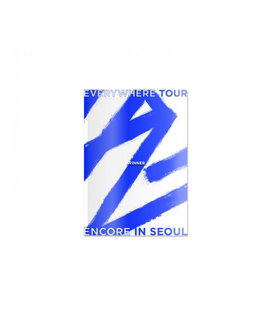[PRICE DROP] WINNER - 2019 WINNER EVERYWHERE TOUR ENCORE IN SEOUL [DVD+LIVE CD]