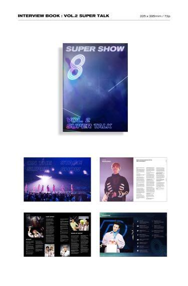 🌺Super Junior🌺Super Show 8 : Infinite Time (Photo Book)
