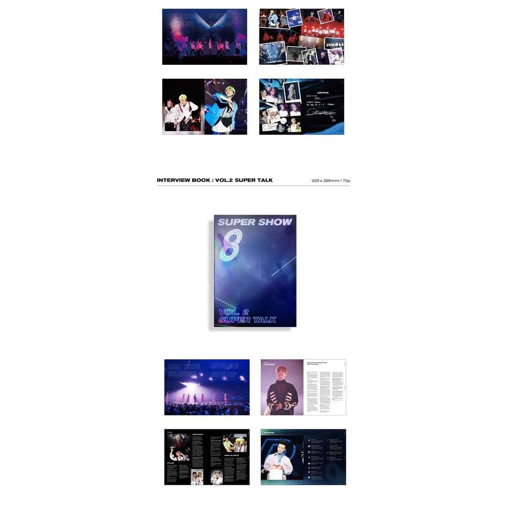 SUPERJUNIOR SUPER SHOW 8 : INFINITE TIME PHOTOBOOK