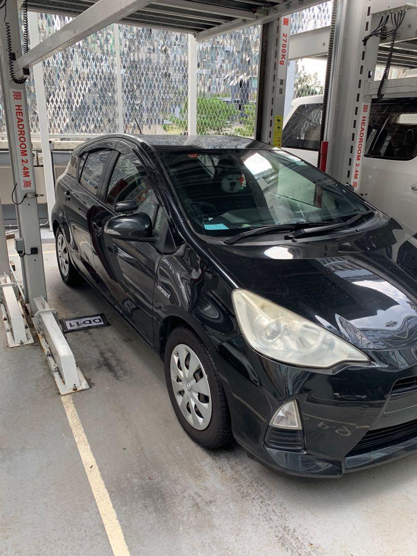 Toyota Aqua 1.5 Hybrid X-Urban (A)