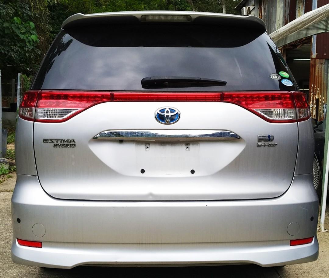 Toyota Estima 2.4X Hybrid 7-seater Auto