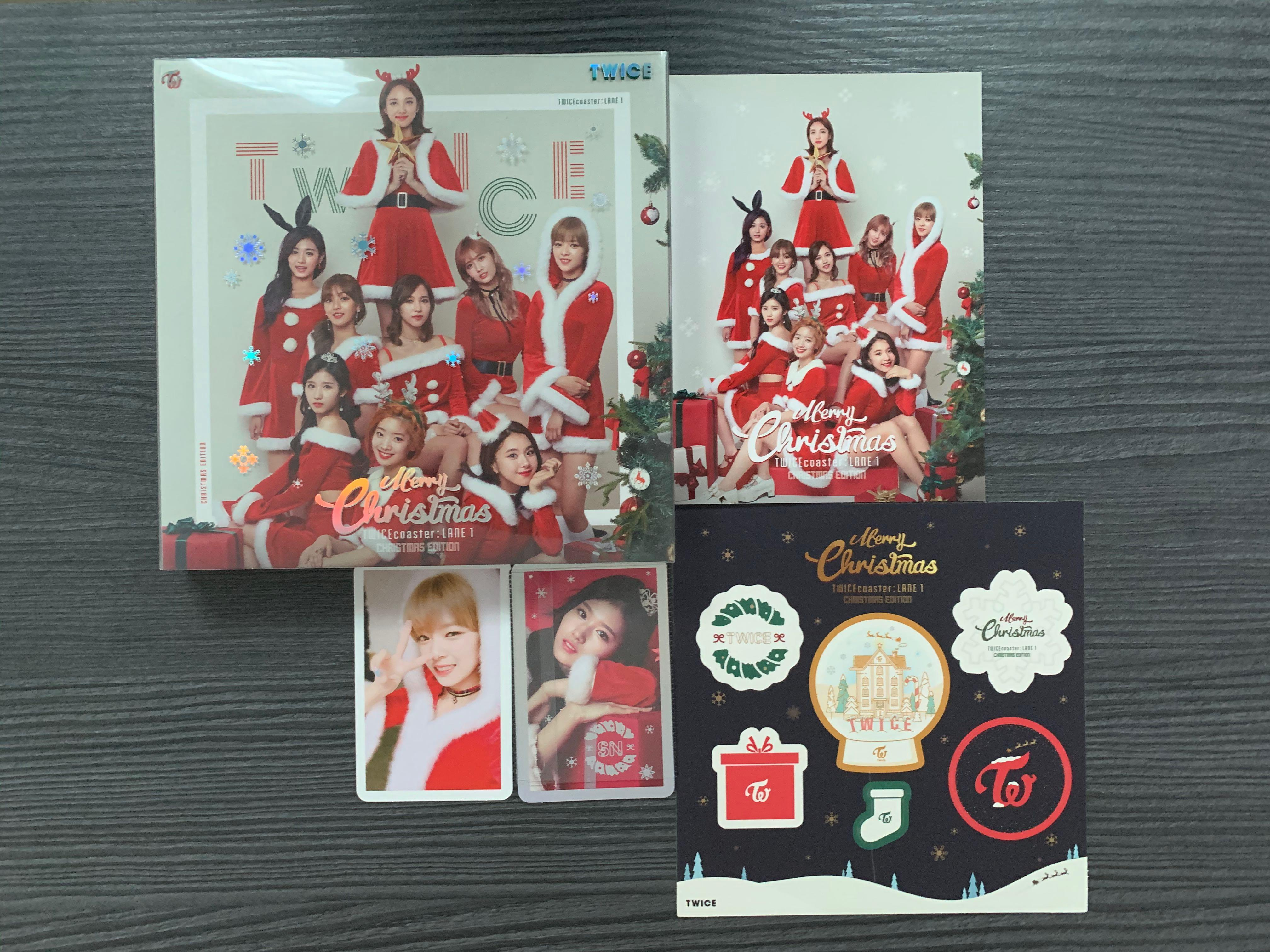 TWICE Album– Twice Coaster Lane 1 (Christmas Edition)