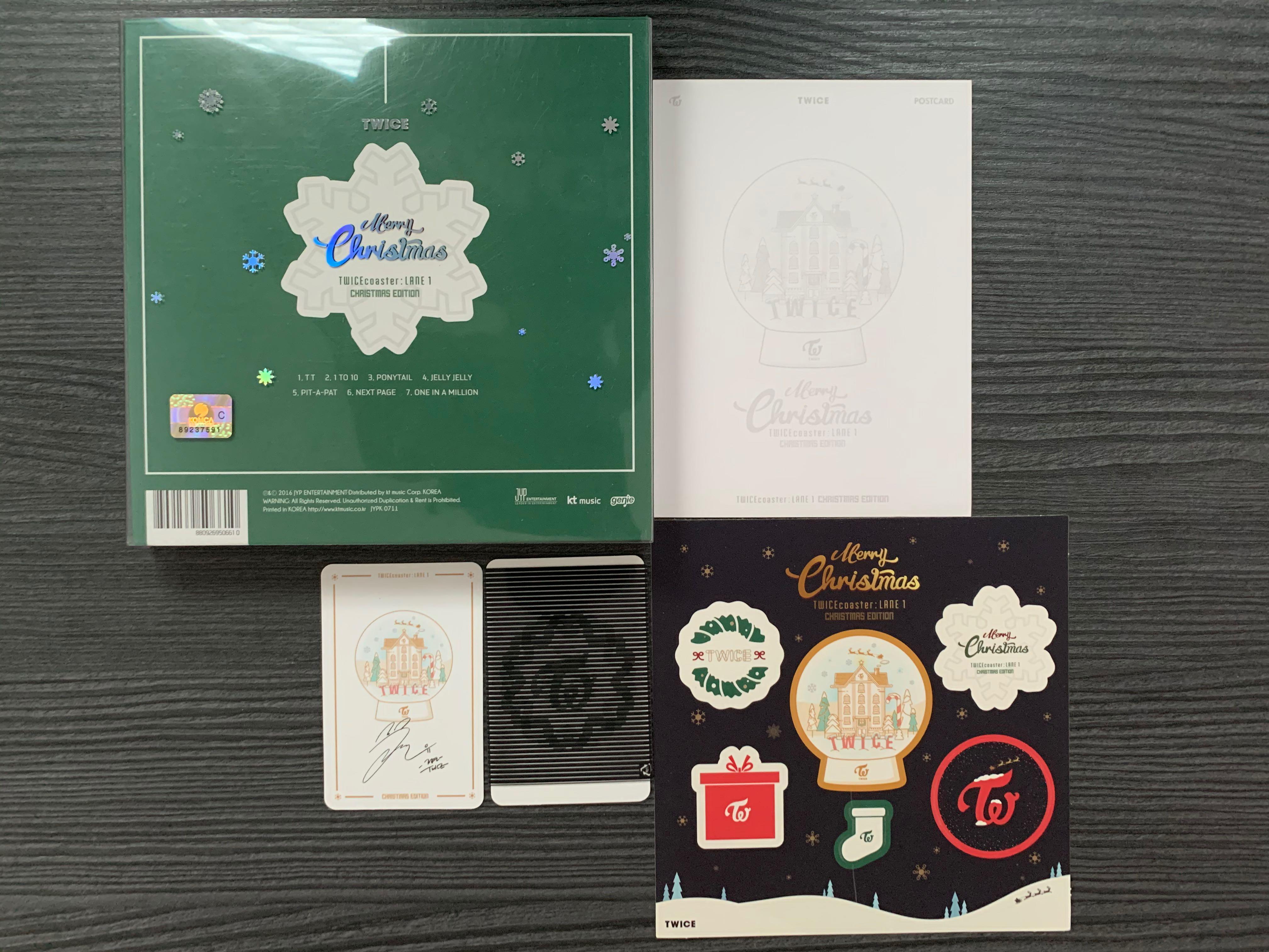 TWICE Album– Twice Coaster Lane 1 (Christmas Edition)
