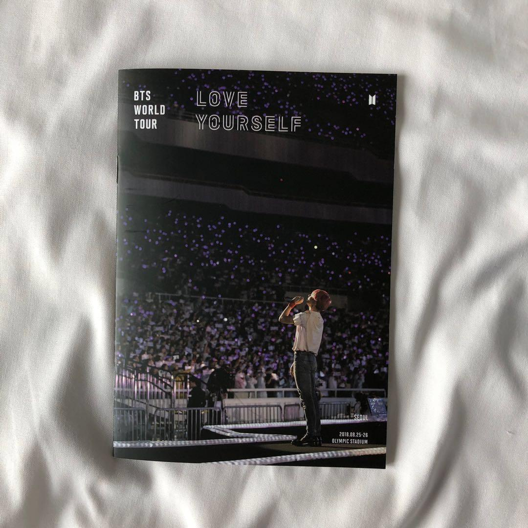 wtb/lf bts jungkook bring the soul lenticular and ly seoul bluray mini photobook
