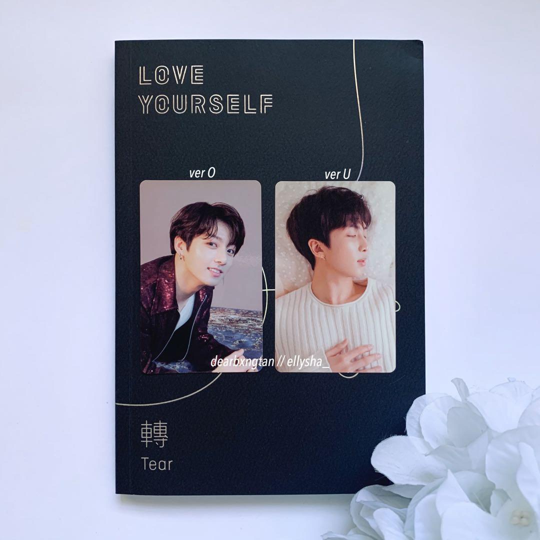 [WTT] BTS LOVE YOURSELF TEAR OFFICIAL PHOTOCARD: JUNGKOOK & RM FOR SUGA