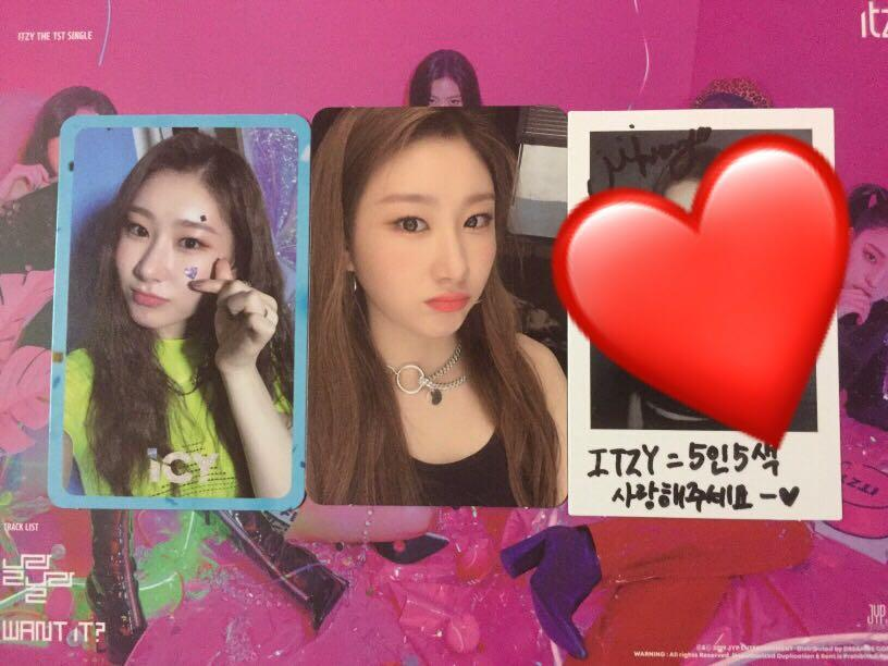 (WTT/WTS) ITZY IT'Z ICY CHAERYOUNG PHOTOCARD TO LIA OR YUNA