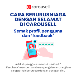 Selamat datang ke Carousell!