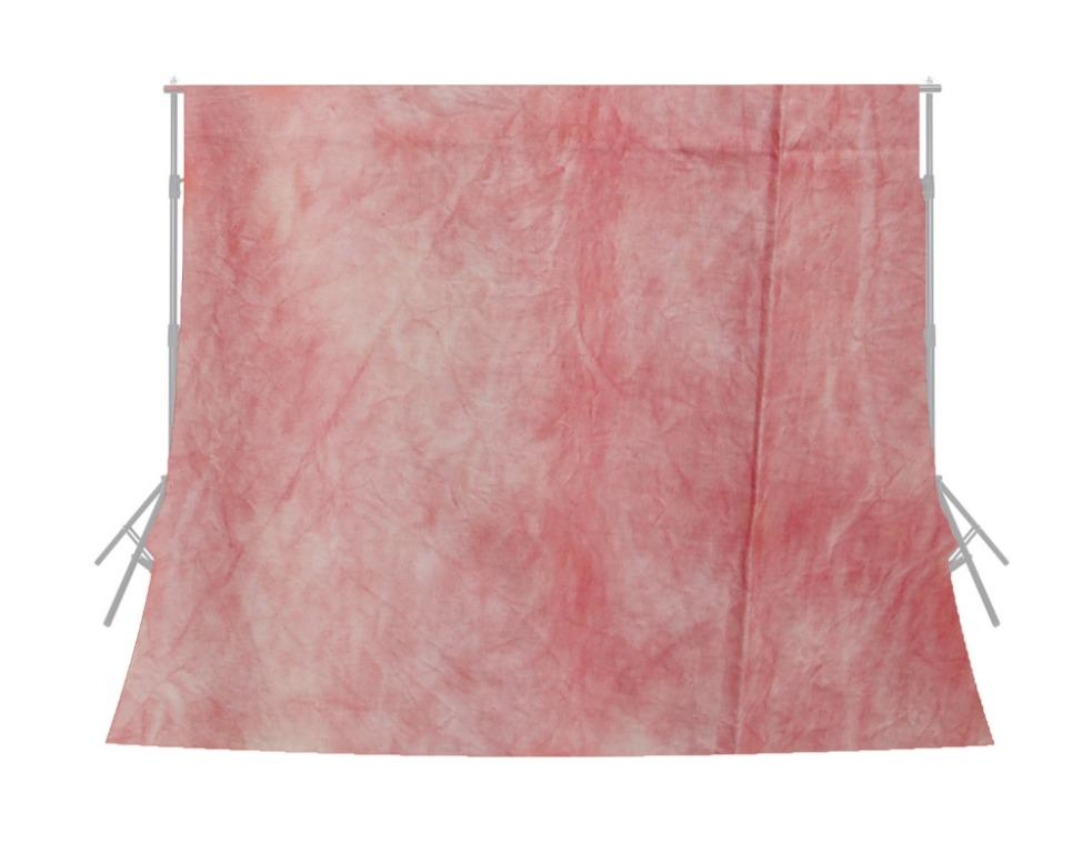 10x20 feet Dyed Pink Muslin Photo Video Background / BRAND NEW / Free Shipping Available