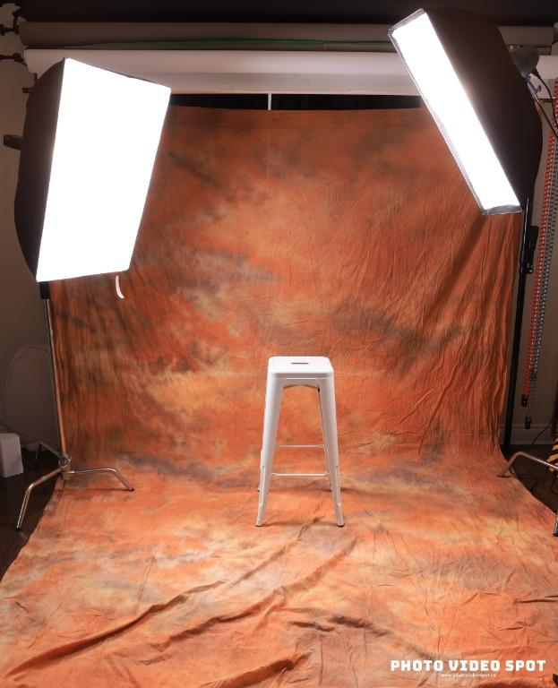 10x20 feet Marble Peach Photo Video Background / BRAND NEW / Free Shipping Available