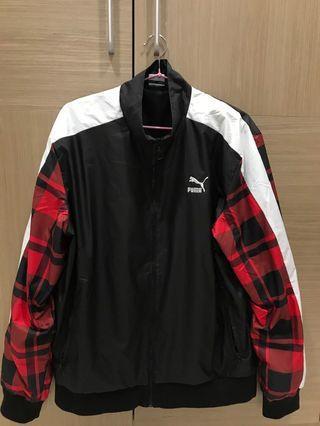 極新 運動品牌 正版 PUMA 防風外套 內網眼 男M