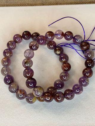 ❤️❤️紫幽靈手串10mm