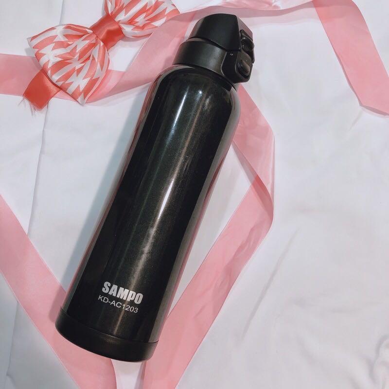 聲寶 sampo kd-ac1203 冷熱保溫瓶 1公升