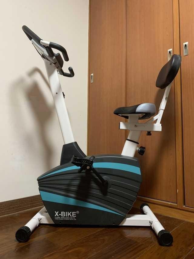 出清超新 x-bike new 60100 立式磁控飛輪健身車 台灣精品
