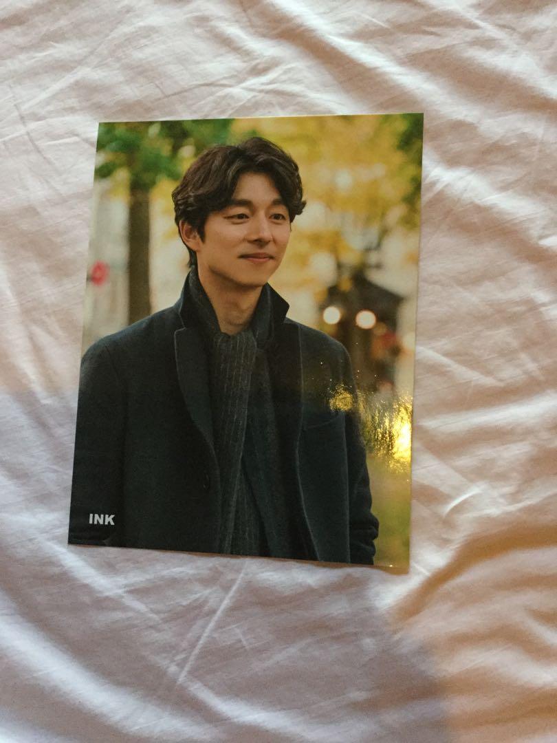 GOBLIN GONG YOO KIM GO EUN PHOTOCARDS & STICKY NOTES