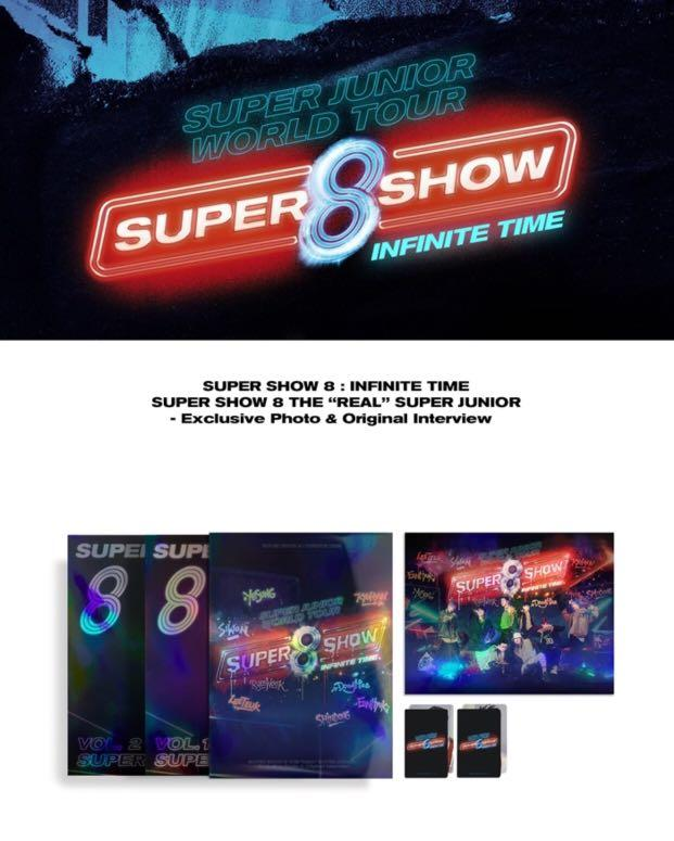 [GROUP ORDER] SUPER JUNIOR - SUPER SHOW 8 : INFINITE TIME ( Photobook )