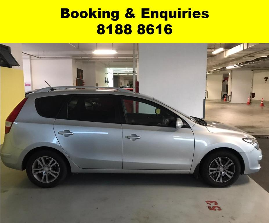 Hyundai i30CW SOCIAL DISTANCING?? TGIF JUST IN! Superb condition, Fuel efficient & Spacious! Rent a car now to travel with a peace of mind! Cheapest rental with just $500 Deposit driveoff immediately.  Whatsapp 8188 8616 now to enjoy special rates!!