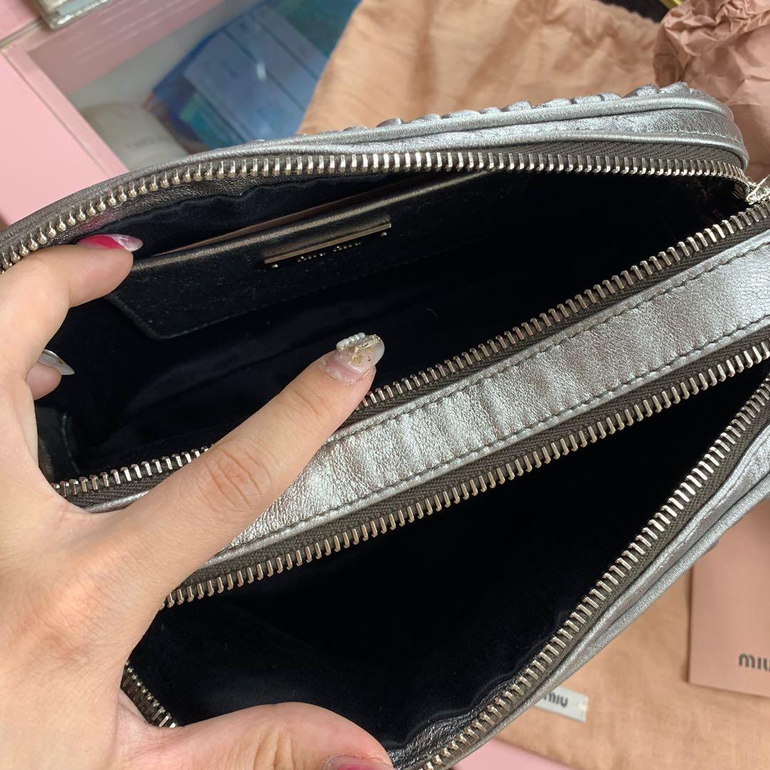 Miu Miu Matelasse Leather Bag 100% ORI COUNTER & Hanya 2x pakai. 100% ASLI BELI DI AUSTRALIA