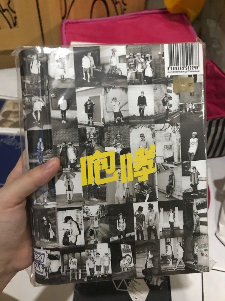 NEW EXO GROWL ALBUM XOXO REPACK (HUG VER / CHINESE VER)