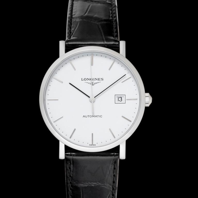 [NEW] Longines The Longines Elegant Collection Automatic White Dial Men's WatchThe Longines Elegant Collection Automatic White Dial Men's Watch L49104122