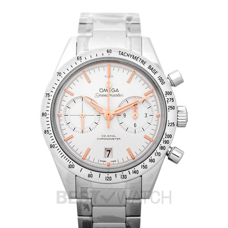 [NEW] Omega Speedmaster '57 Co-Axial Chronograph 41.5mm Automatic Silver Dial Steel Men's Watch 331.10.42.51.02.002