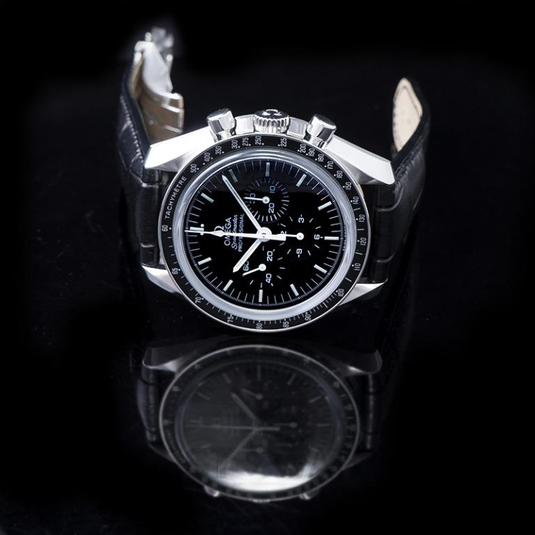 [NEW] Omega Speedmaster Moonwatch Professional Chronograph 42mm Manual-winding Black Dial Steel Men's Watch 311.33.42.30.01.002