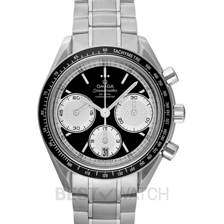 [NEW] Omega Speedmaster Racing Co-Axial Chronograph 40 mm Automatic Black Dial Steel Men's Watch 326.30.40.50.01.002
