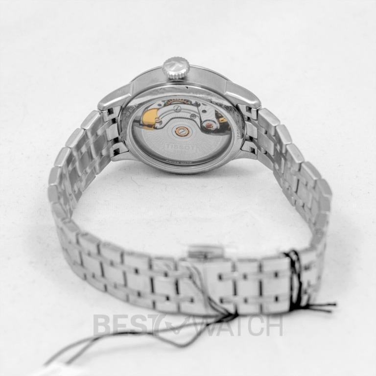 [NEW] Tissot T-Classic Chemin Des Tourelles Powermatic 80 Lady Automatic Blue Dial Ladies Watch T099.207.11.048.00