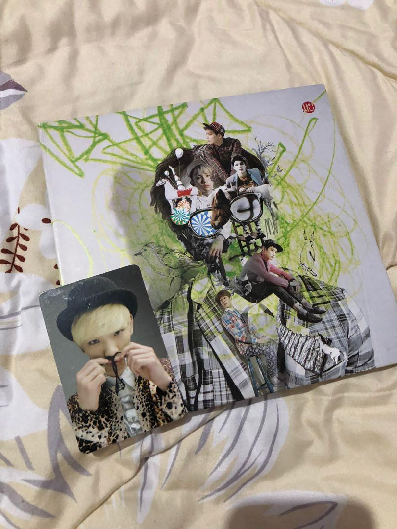 SHINee Dream Girl: The Misconception of You Album + Photocard