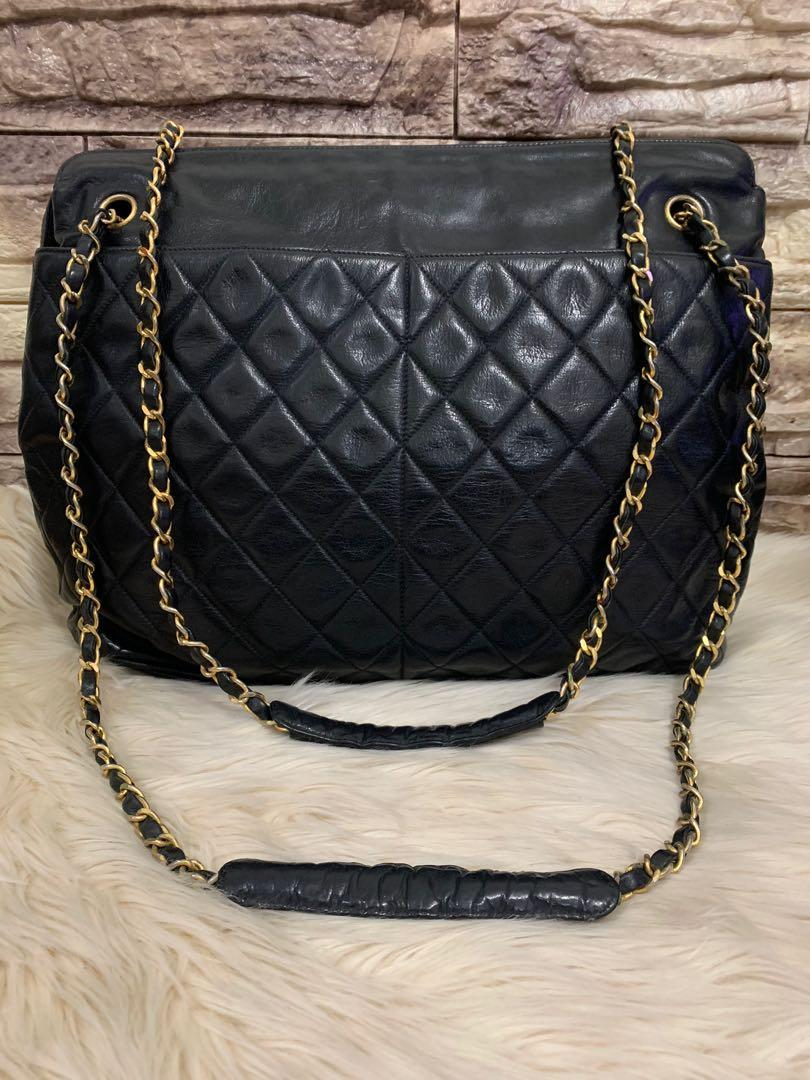 Shoulder bag Chanel mulus 90% OK, vintage, broken hologram, lampo zipper!!authentic 10000%! 38 x 29 x 10 cm! Money back guarantee