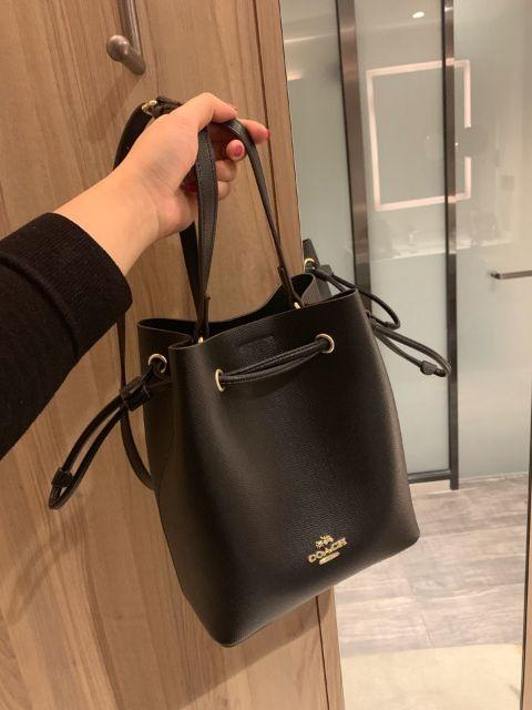 United States purchasing COACH Galloping Women's Shoulder Bags Women's Bucket Bags Women's Crossbody Bags Top Leather Cowhide Ultra HD Hardware Retro Hippie Bags P