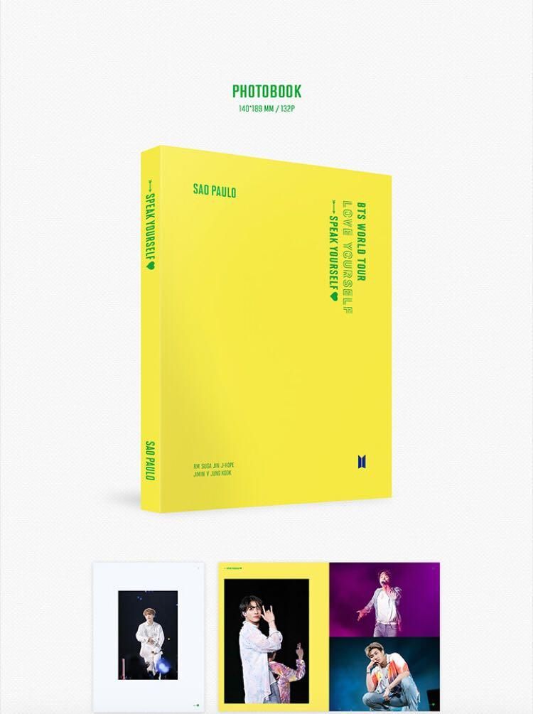 <WTS>[BTS SOA PAULO SPEAK YOURSELF WORLD TOUR DVD]. {RESTOCK}