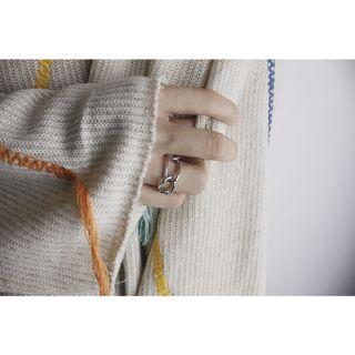 925銀『大鏈戒』鏈型戒 粗獷戒 戒指 #2020年中慶