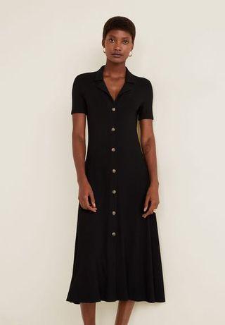 MANGO Ribbed Dress