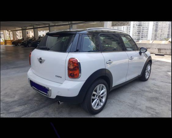 $99.99 Mini Copper Countryman promotion deal min. 2 weeks Call: 6348 0500