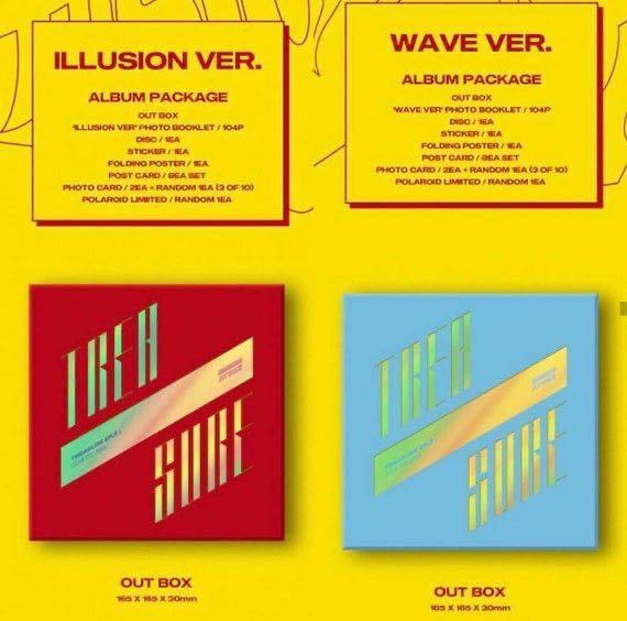 ATEEZ EP 3 WAVE & ILLUSION WITHOUT PC ONLY✌🏻{SOLD OUT}