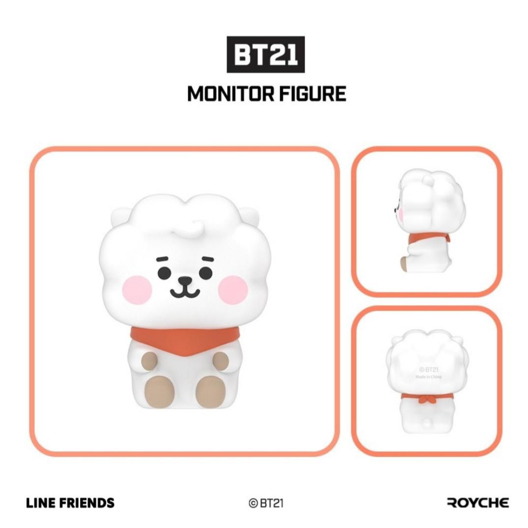 BT21 Official baby ver  monitor figure by line friend X royche