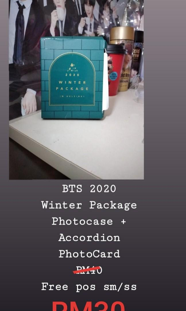 BTS 2020 Winter Package PhotoCase + Accordion PhotoCard