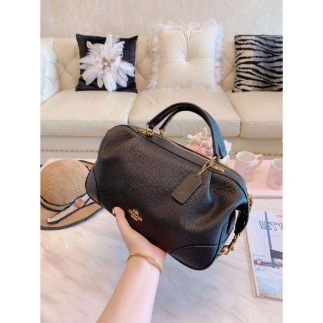 COACH New Bags Women's Handbags Retro Shoulder Bags Crossbody Bags Large Capacity Boston Bags Pillow Bags Shoulder Bags P