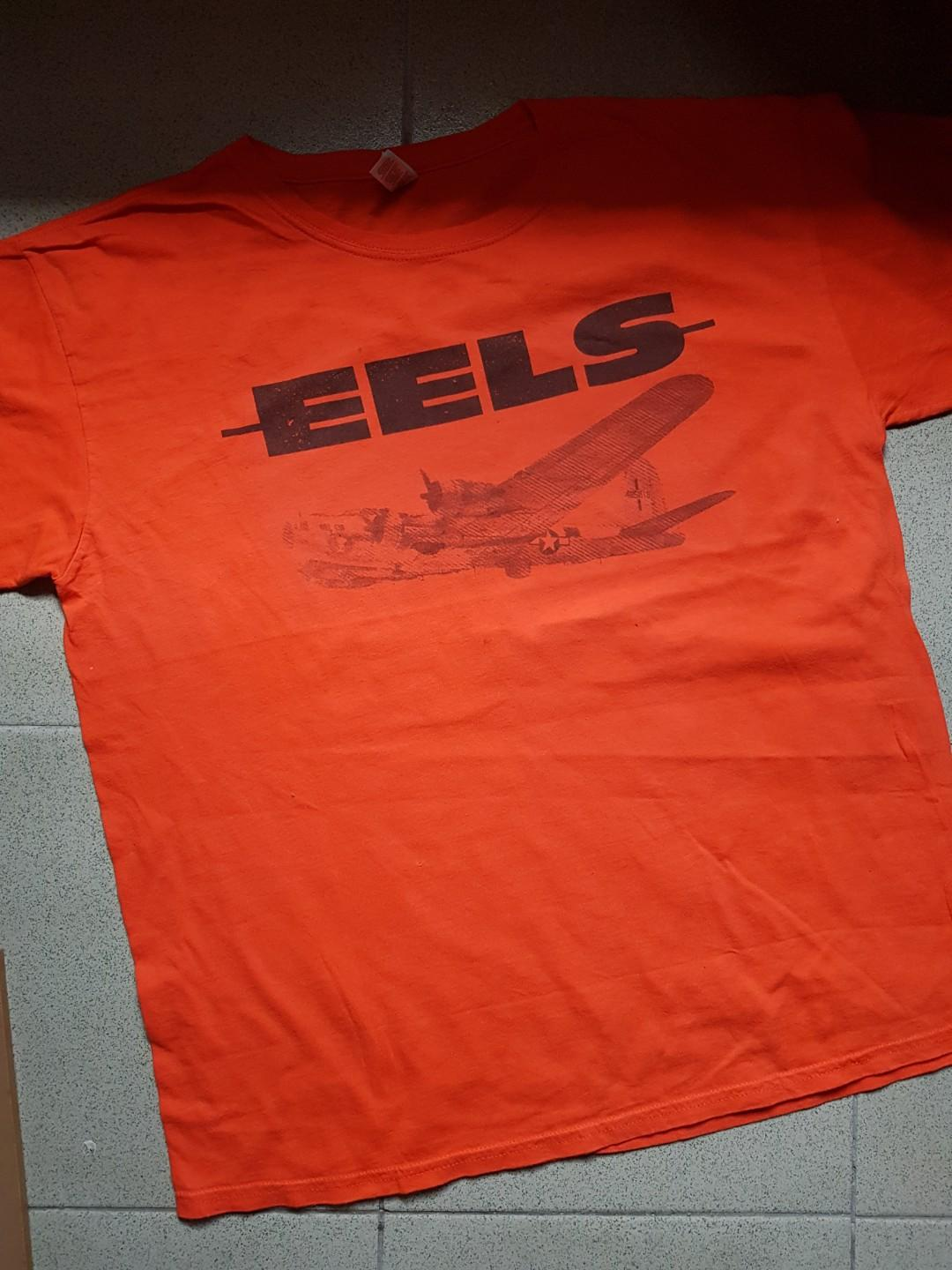Eels Band Shirt Men S Fashion Clothes Tops On Carousell