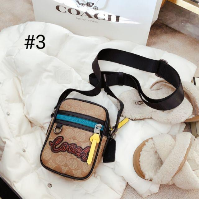 [Free Shipping Spot] COACH Star Star Tassel Camera Bag ~ Retro Series-Wild Artifact Shoulder Bag Messenger Bag P13216