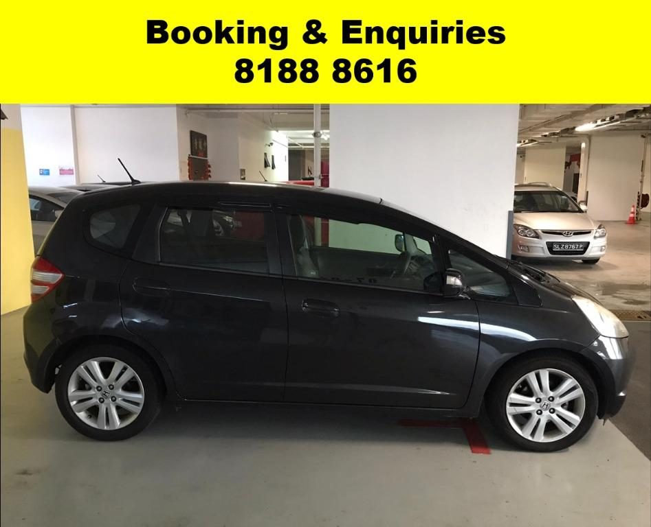 Honda Jazz HAPPY SATURDAY~ Lalamove/Grabfood/Parcel Delivery Ready! Cheapest rental in town with just $500 Deposit driveoff immediately.  Whatsapp 8188 8616 now to enjoy special rates!!